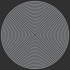 Discover & share this Animated GIF with everyone you know. GIPHY is how you search, share, discover, and create GIFs. Cool Optical Illusions, Art Optical, Gifs 3d, Random Gif, Gif Art, Illusion Art, Psychedelic Art, Sacred Geometry, Circle Geometry