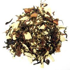 """Zoete witte """"Bounty"""" Een witte thee met de smaak van een exotische reep chocolade!!"""