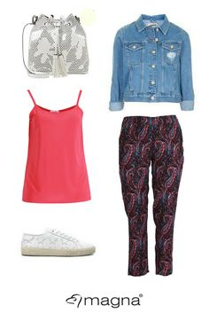 How to wear the printed trouser #outfit #plussize