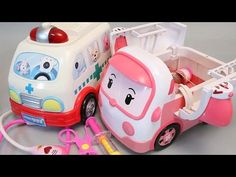 Tayo the Little Bus Crane Disney Cars Kinetic Sand Toy Surprise Eggs - YouTube