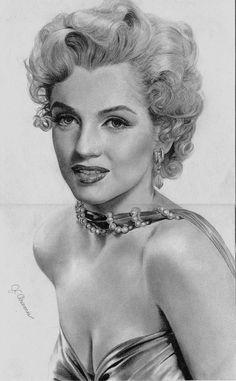 norma jean aka marilyn by ~aramismarron on deviantART Artist: Jose Carlo G. Mendoza