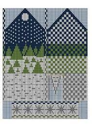 Fall Knitting, Fair Isle Knitting, Knitting Charts, Christmas Knitting, Double Knitting, Knitting Patterns Free, Crochet Patterns, Knitted Mittens Pattern, Knit Mittens