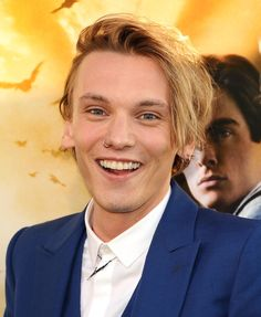 Jamie Campbell Bower at the premiere of 'Mortal Instruments.' Grooming by Sydney Zibrak.