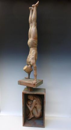Giuseppe Tirelli, Sculpture, Human figure, Other, Wood Sculpture Painting, Wood Sculpture, Z Arts, Art Carved, Stone Carving, Wood Carvings, Italian Art, Cool Artwork, Amazing Artwork
