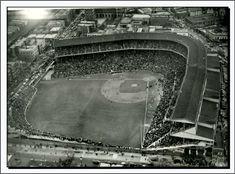 Chicago Cubs History, Sports Stadium, Wrigley Field, Baseball Photos, My Kind Of Town, World Series, City Photo, The Neighbourhood