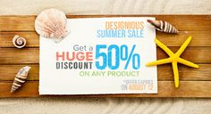 Boy, we have some great news for you today!  Even though it's mid-summer, the guys from Designious wanted to be sure you're prepared for the upcoming season and have all the resources you could possibly need for your projects. That's why they came up with an awesome 50% discount on all our products!