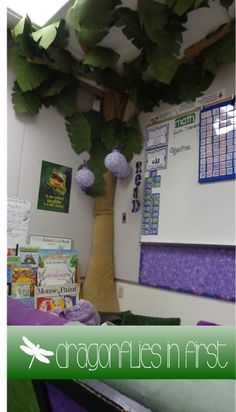 Just Write! and a Paper Tree?!? A view of a now flame-retardant tree! :)