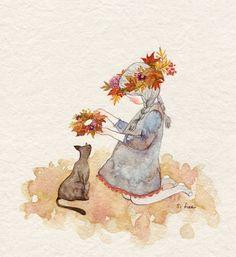 가을로 엮은 내 마음을 너에게 선물할께....
