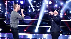 "Barrett Baber and Dustin Christensen force Blake to make an impossible decision after their duet, ""Walking in Memphis."""
