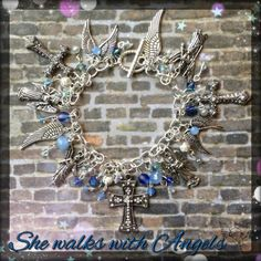 She walks with angels~ by Sweet Treats Jewelry~