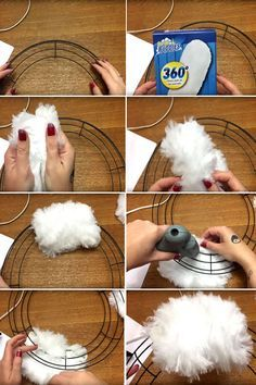 DIY Holiday Wreath Ideas – Learn How To Make Wreaths To Make Your Front Door Look Amazing – Dollar Store Hacks – Homemade Christmas Decor diy dollar store christmas wreath Dollar Tree Christmas, Dollar Tree Crafts, Christmas Projects, Holiday Crafts, Holiday Ideas, Xmas Ideas, Easter Crafts, Dollar Tree Fall, Homemade Christmas Wreaths