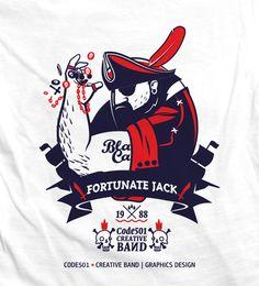 CODE501 х FARTUNATE JACK by CODE501 - CREATIVE BAND ! , via Behance