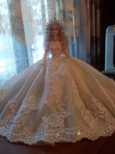 Barbie Gowns, Barbie Hair, Barbie Clothes, Barbie Miss, Glamour Dolls, Bride Dolls, Event Dresses, Fashion Dolls, Marie