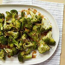 Citrus Ginger Broccoli