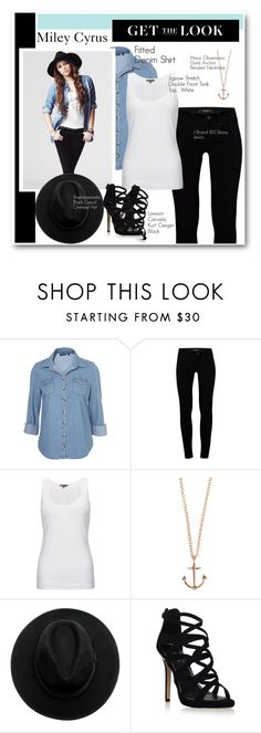 """""""Get the Look: Miley Cyrus Photo Shoot New Walmart Collection."""" by eternalsmile11 on Polyvore featuring moda, J Brand, Max Azria, Jigsaw, Minor Obsessions y Carvela Kurt Geiger"""