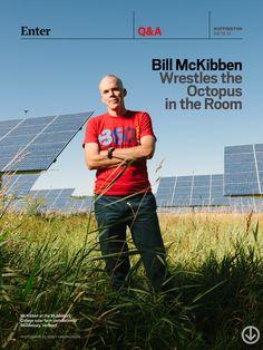 Bill McKibben Wrestles The Octopus In The Room