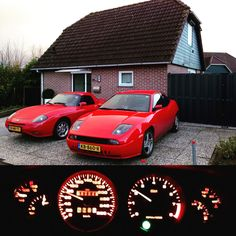 My two red Italians