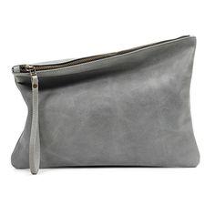 Leah Lerner Women Leather Clutch Grey Distressed Leah Lerner http://www.amazon.com/dp/B00MNCORHK/ref=cm_sw_r_pi_dp_MR0cvb1BX0B4Y