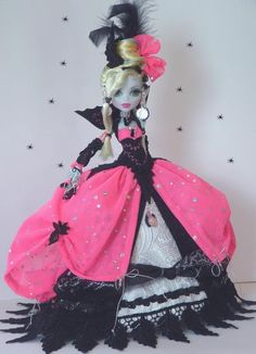 Reserved for My Customer Monster High OOAK Art Doll Hot by Cindy | eBay