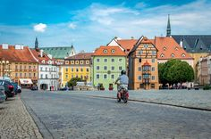 Cheb - This photo was taken in Cheb, a colorful town in the west of the Czech Republic.