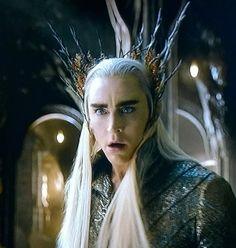 """Thranduil #Thranduil #Hobbit #mirkwood AHAHAHA HIS FACE IS LIKE """"DID YOU JUST...?"""""""