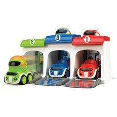Let your little racer start the engines and bash his cars to the finish line with this TOMY Wacky Racers Car Toy Set. Toddler Toys, Toddler Activities, Kids Toys, Toy Garage, Garage Doors, Pull Toy, Learning Toys, Toddler Learning, Educational Toys