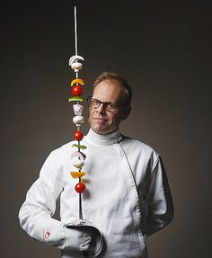alton brown - he is so silly