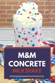 One of our favorite summertime shakes is an M Frozen Drink Recipes, Milkshake Recipes, Frozen Drinks, Frozen Hot Chocolate, Chocolate Shake, Chocolate Coffee, Cocktail And Mocktail, Cocktails, Peach Rum