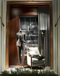 Ralph Lauren Beverly Hills Men's Purple Label Fall 2014 Window 4