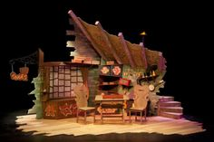 The Elves and the Shoemakers. Theatre Hullabloo and The Berry Theatre. Tour. Set design by Bek Palmer. 2012.