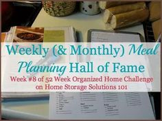 Weekly Meal Planner Hall of Fame: Ways To Plan Family Meals
