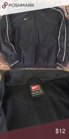 Vintage Nike Windbreaker Black Vintage Windbreaker. Mesh inner lining. Size Large. Great Condition. Open to Offers. Nike Jackets & Coats Windbreakers