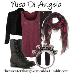 """""""Nico Di Angelo"""" by khristianallen on Polyvore"""