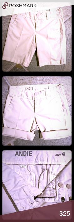 J. Crew Andie Walking Bermuda Short in Oatmeal Nearly brand new.  Can be worn folded up for a shorter look, or longer for a casual Bermuda look. J. Crew Shorts Bermudas