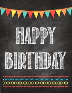 Free Birthday Printable & Birth verse Info - Second Chance To Dream. Happy Birthday page.