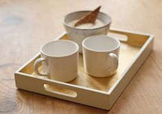 small lacquered drinks tray by nom living | notonthehighstreet.com