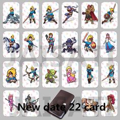 A1 A2 A3 A4 FREE Shipping The Legend of Zelda Breath of the Wild HIB