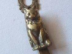 Cat+door+knocker+brass