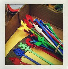 Swizzle Sticks, Flea Market (2011)