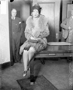 Louise Rolfe, girlfriend and sweetheart of gangster Jack McGurn, 1929.