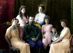 Romanovs in 1913 by Maydy.deviantart.com on @DeviantArt