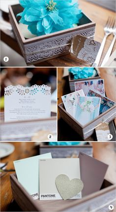 How to make a cute box to ask your best gals to be your bridesmaids! #bridesmaids #diy #weddingchicks Captured By: Ken Pak Photography --- http://www.weddingchicks.com/2014/05/02/will-you-be-my-bridal-party/