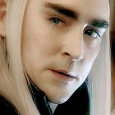 Thranduil and Legolas ( I love the elves )