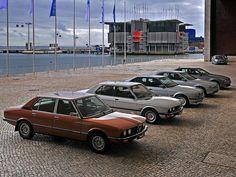 BMW 5-Series Geneology 1972-2011 E12, E28, E34, E39, E60, F10