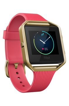 Fitbit 'Blaze' Slim Band Smart Fitness Watch, 40mm (Special Edition) available at #Nordstrom
