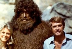 Bigfoot serie : Bigfoot as André the Giant, Lindsay Wagner as Super Jaimie, lee Majors as Steve Austin and the Fall Guy Steve Austin, Ted Cassidy, Pie Grande, Science Fiction, Lee Majors, Andre The Giant, Bionic Woman, Tv Reviews, Ex Machina