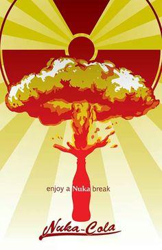 Nuka-cola Ad by crimsonprinny.deviantart.com on @deviantART #fallout