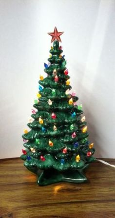 Vintage Ceramic Christmas Tree | From My Home | Pinterest ...