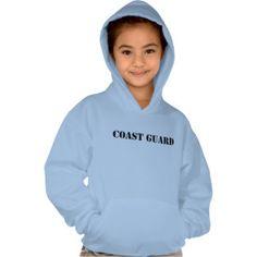 USCG U.S. Coast Guard, retired, gifts, military, Girls' Hanes ComfortBlend® Hoodie
