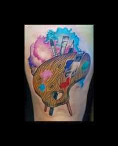Mi tattoo N°2... Llevar en la piel lo que una ama...  :D